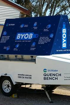 The SA Water Quench Bench