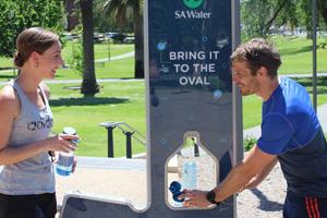 SA Water BYOB drinking fountain