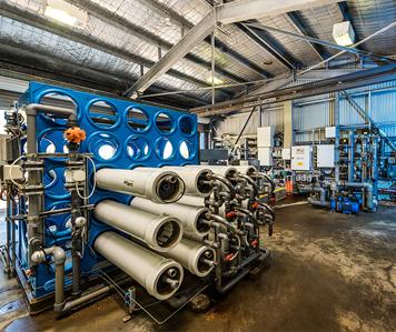 Penneshaw desalination plant