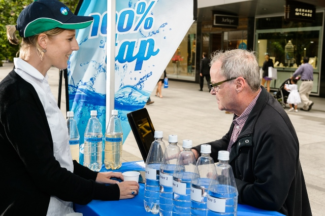 Take the Tap Test in Rundle Mall